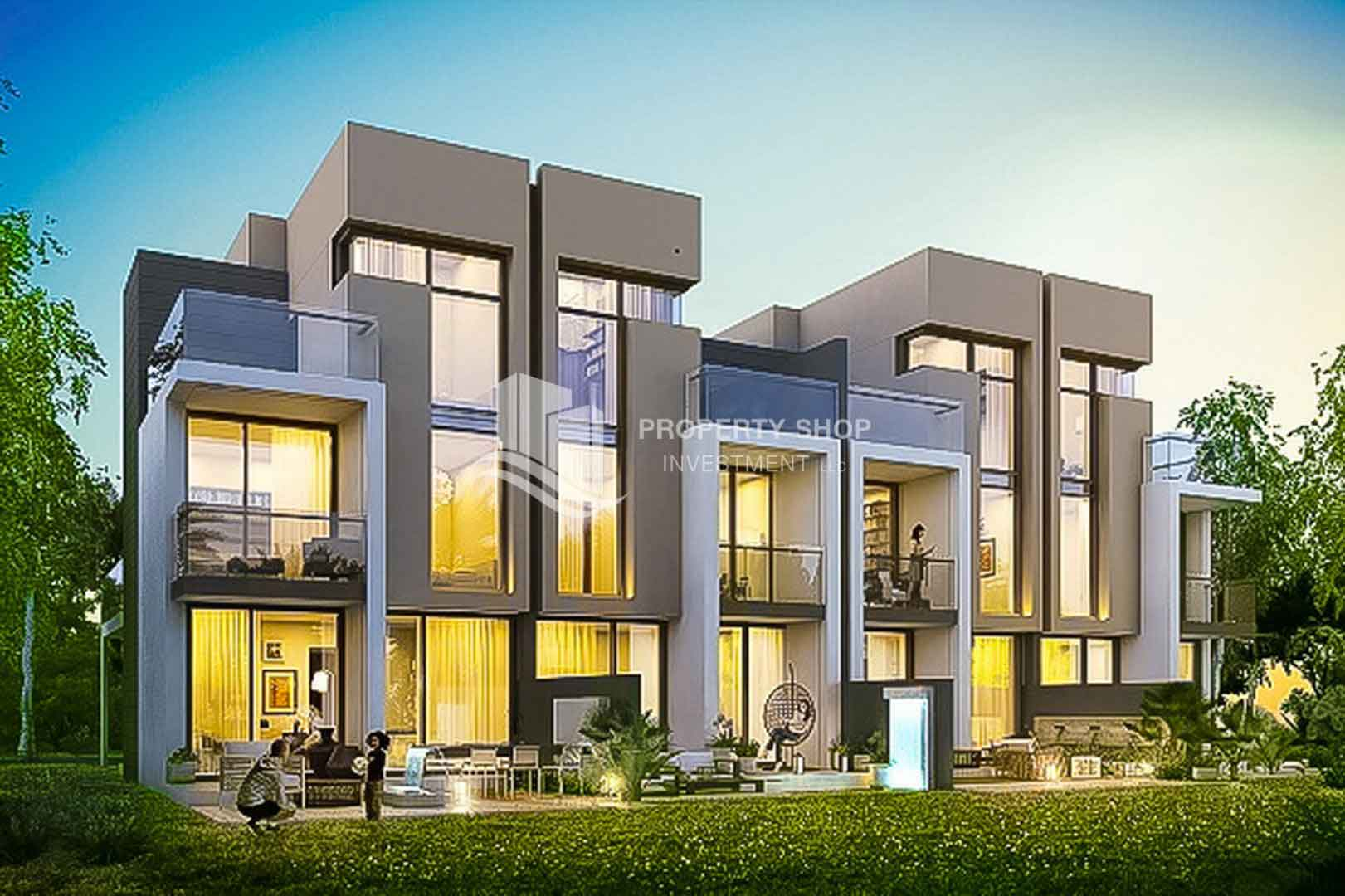 Genus Villas In Akoya Damac Properties Dubai