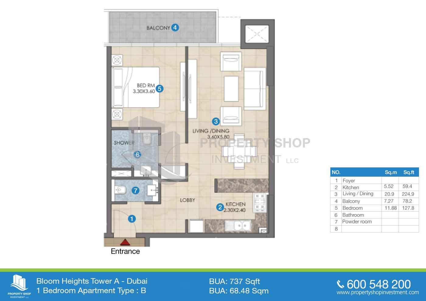 Bloom heights in dubai for Floor plans jumeirah heights