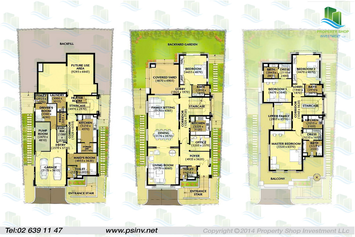 Al forsan village apartment properties villa townhouse for 4 bedroom villa plans
