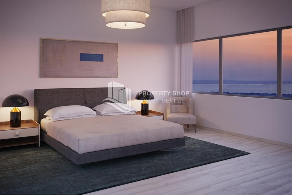 Bedroom - Get a chance to own a property in a luxurious community in Mayan, Yas Island.