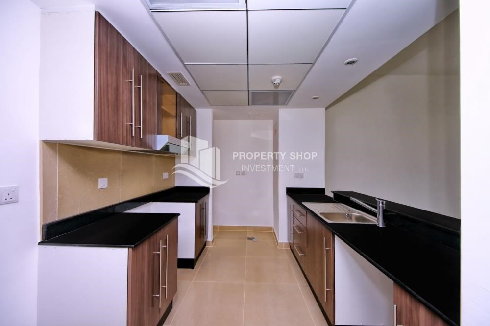 Kitchen - vacant |1BR APT Type G with terrace for sale