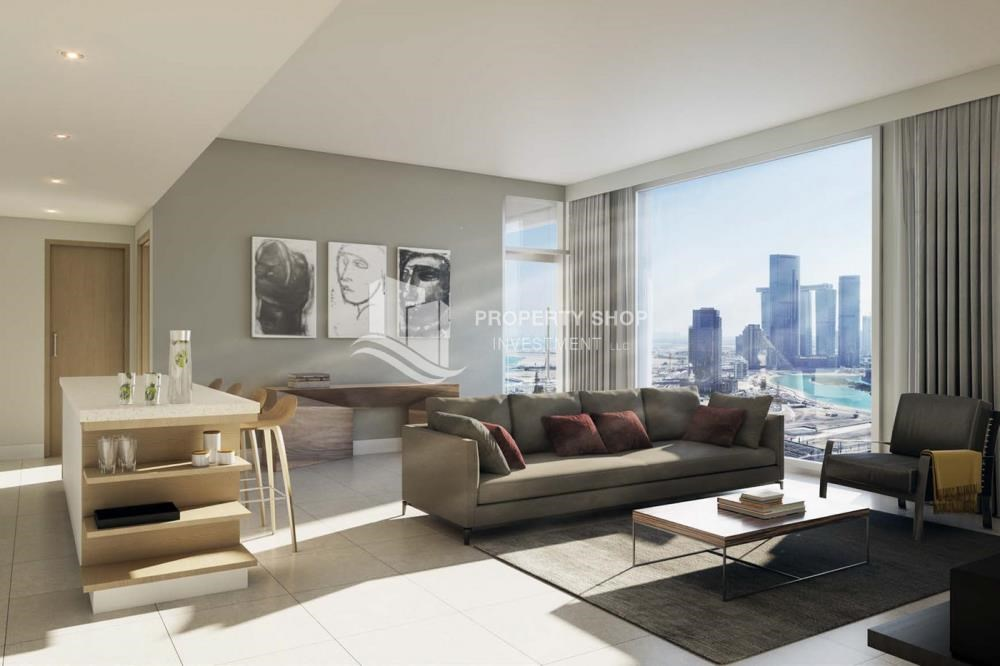 Living Room - Brand new 3BR apartment with easy access to all amenities!