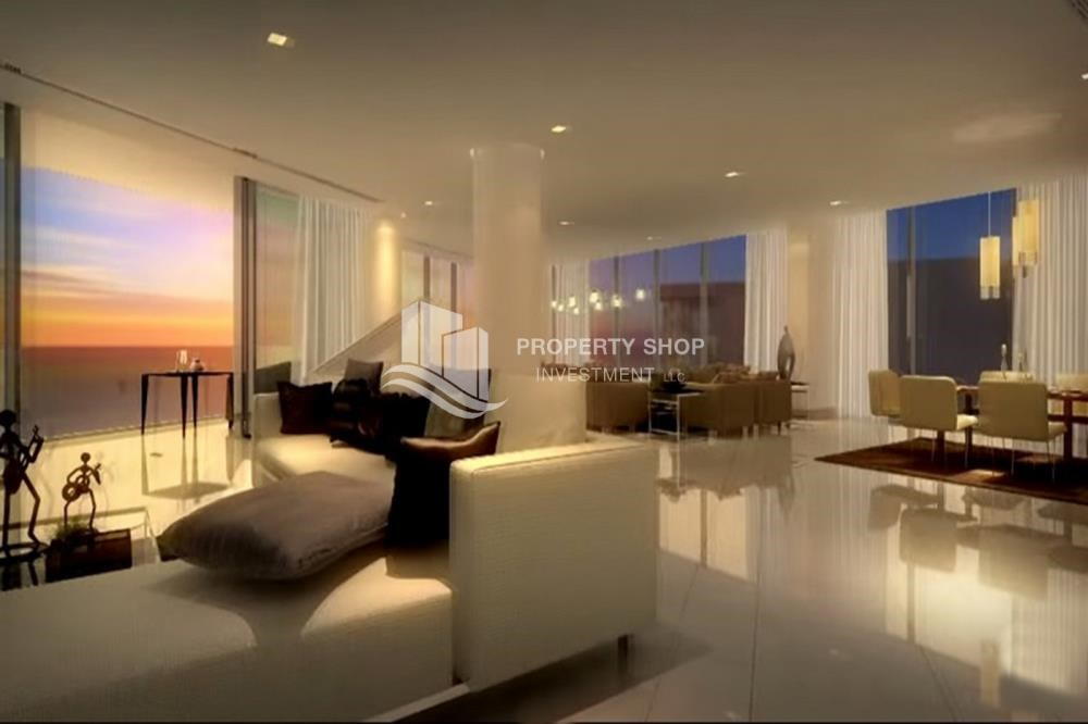 Living Room - Luxury 3bedroom + maid with world class amenities and facilities