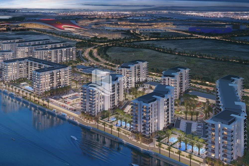 Property - Offplan Apt in Yas Island at just 5% DP