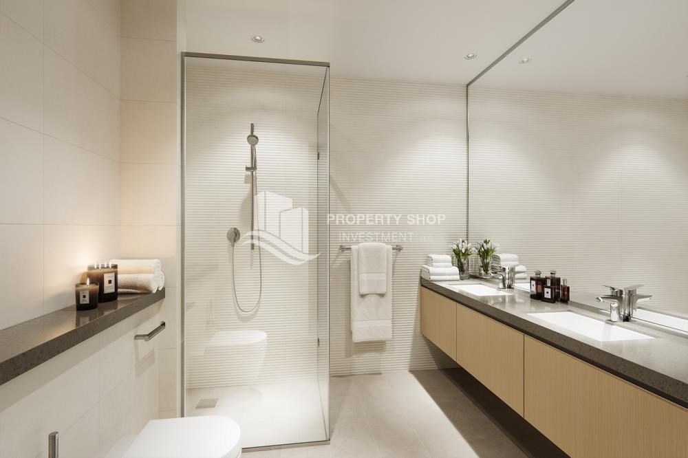 Bathroom - Offplan Apt in Yas Island at just 5% DP