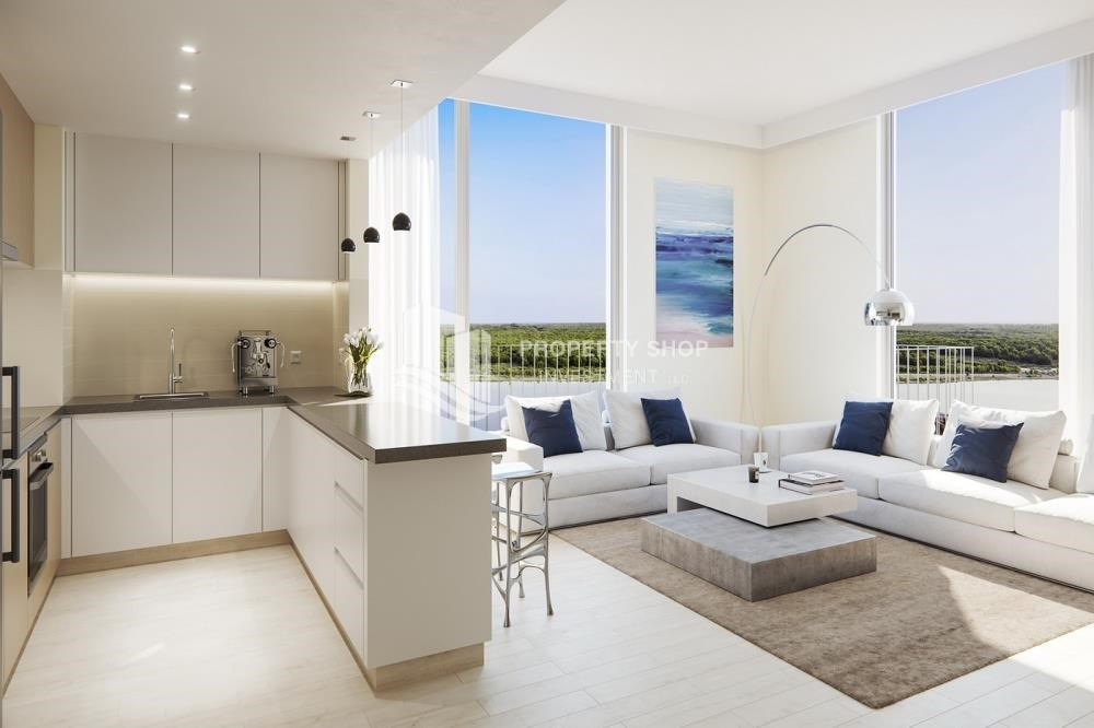 Kitchen - Offplan Apt in Yas Island at just 5% DP