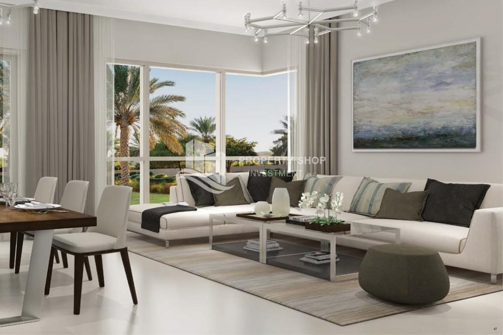 Living Room - Luxury at your doorstep! Own a stunning villa in an elite community.