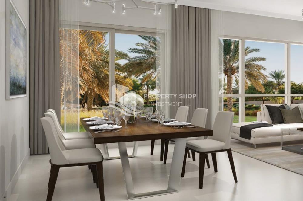 Dining Room - Luxury at your doorstep! Own a stunning villa in an elite community.