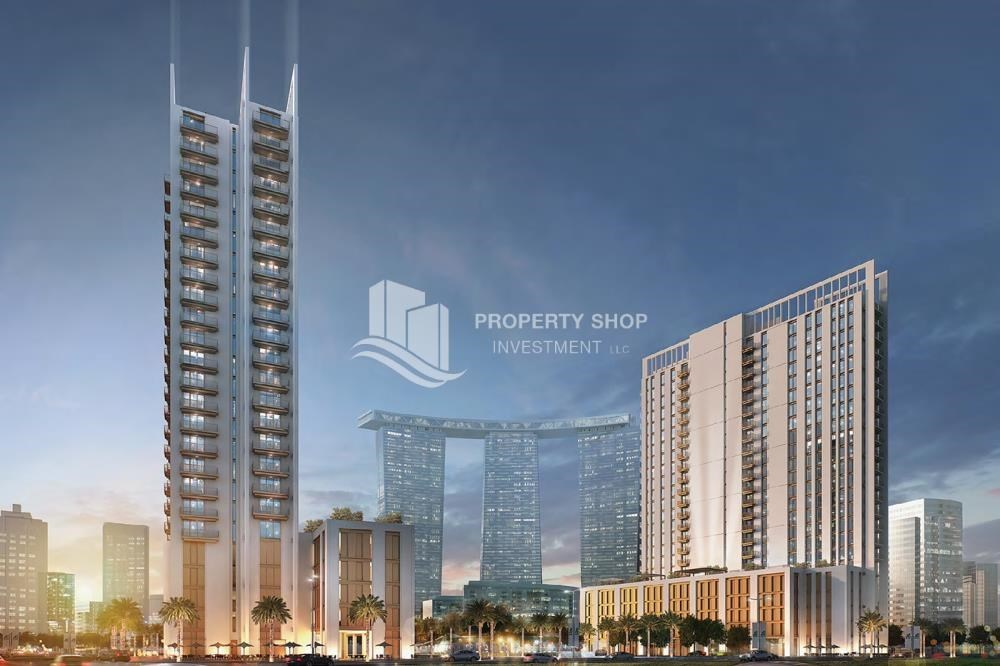 Property - Luxury apartment overlooking the beautiful Reem Island landscape