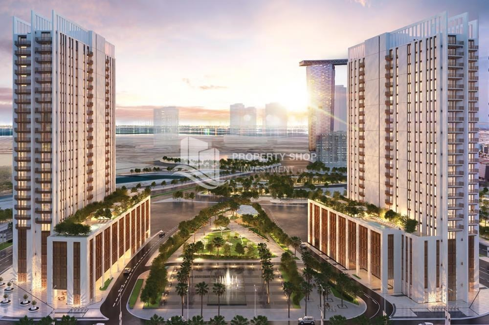 Community - Luxury apartment overlooking the beautiful Reem Island landscape