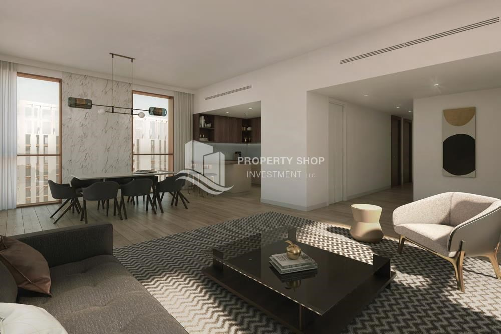 Living Room - Property close to Reem Central Park and Paris-Sorbonne University