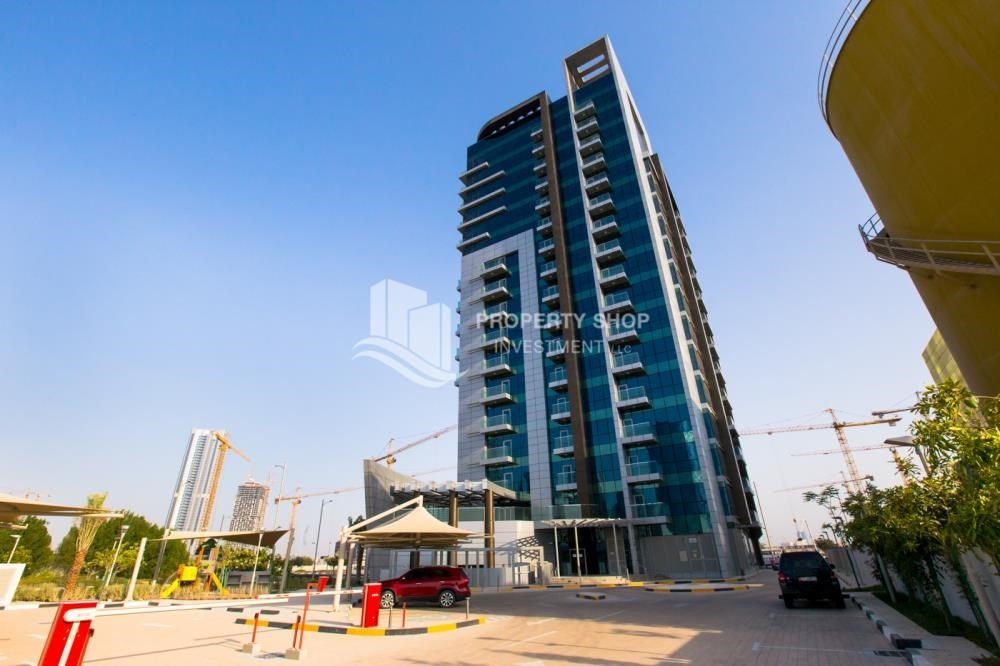 Property - Studio available for rent, Al Noor Tower, Reem Island!