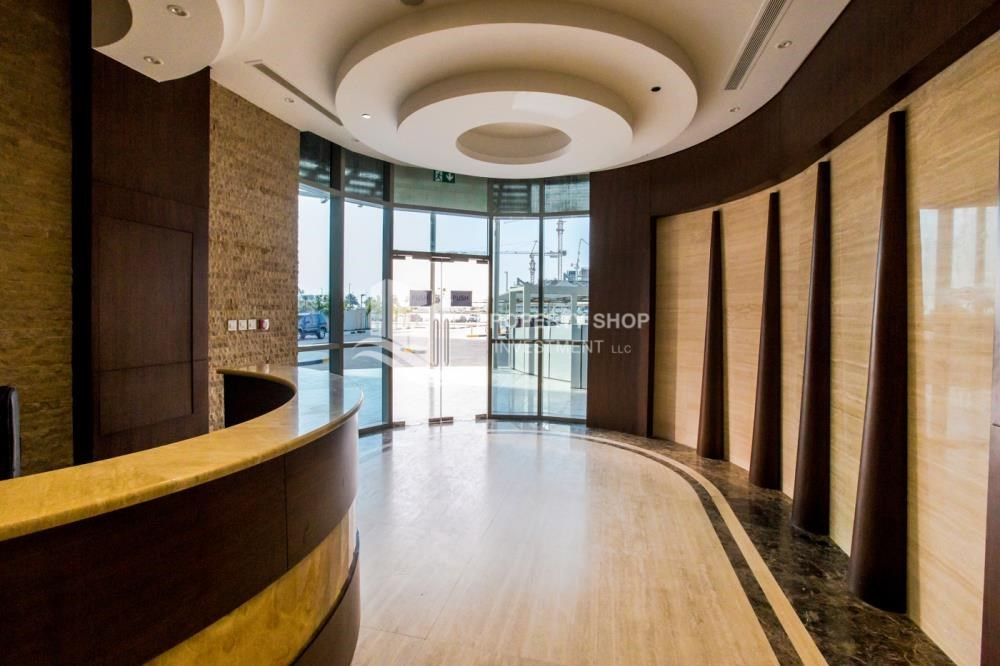 Reception - Studio available for rent, Al Noor Tower, Reem Island!