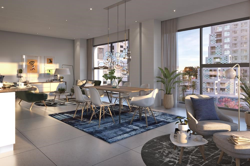 Living Room - Vibrant destination in reem island. 5% down payment/ handover 2021