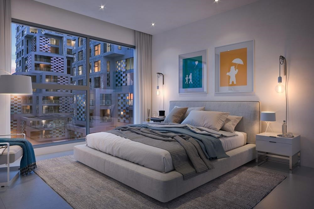 Master Bedroom - Vibrant destination in reem island. 5% down payment/ handover 2021