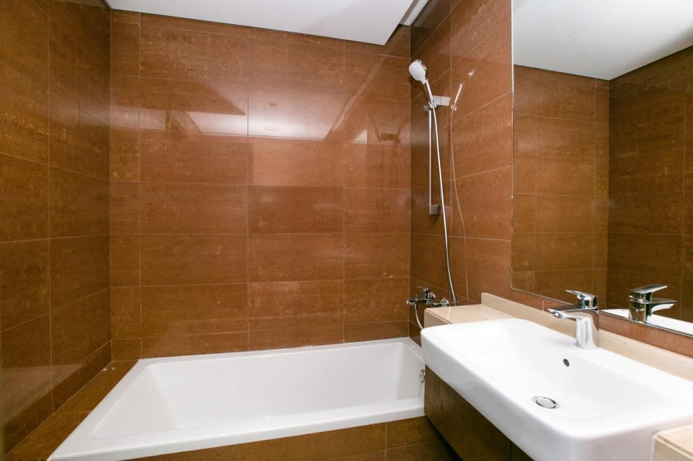 Master Bathroom - own now 2BR First class finishing, interior fittings, and appliances ensuring your convenience.