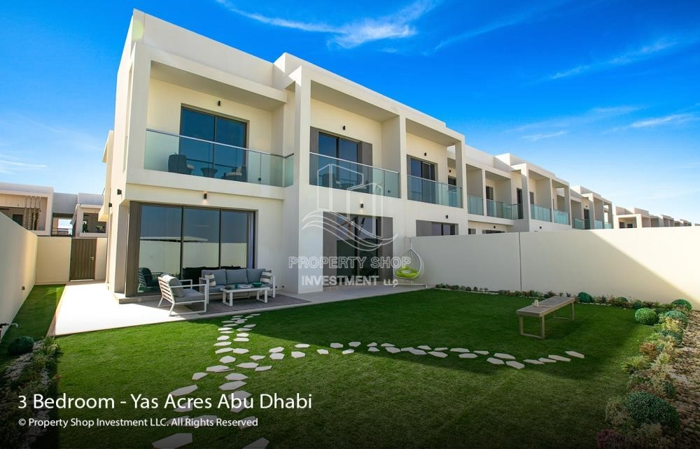 Property - Spacious 3 bedroom townhouse in Yas Acres