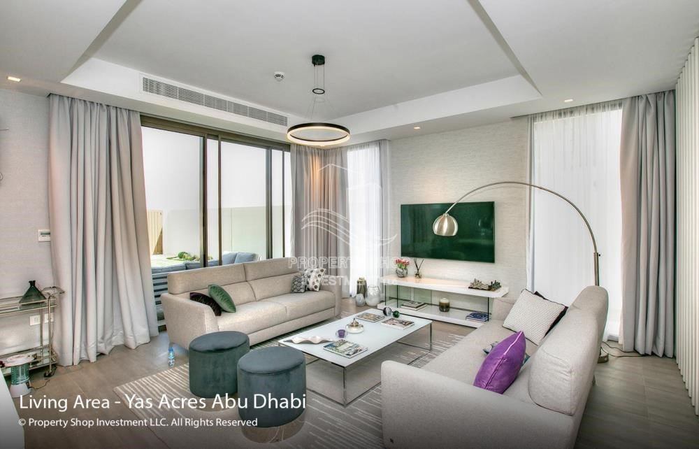 Bedroom - Spacious 3 bedroom townhouse in Yas Acres