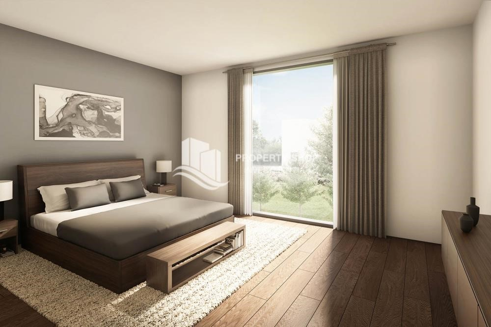 Bedroom - High-end facilities. 1 BR Apartment