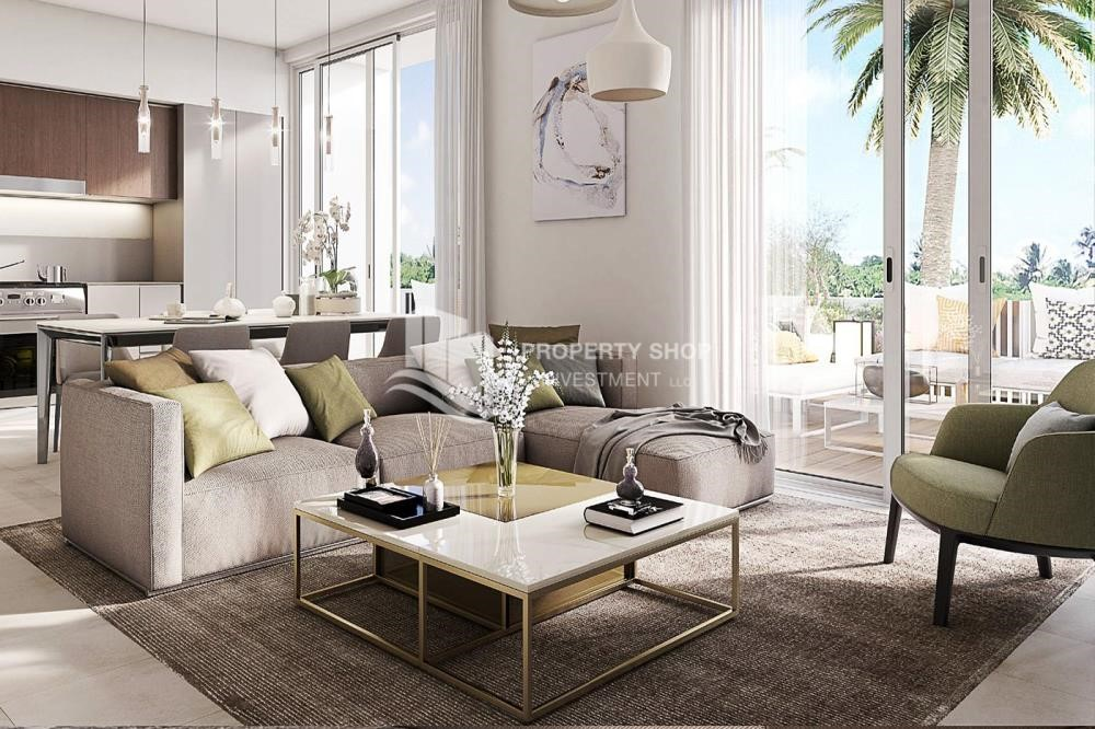 Living Room - The Most Vibrant Community In Dubai South.1.5% Monthly Installments