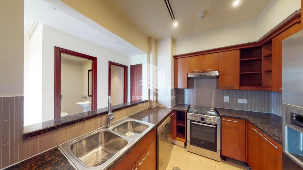 Kitchen - 1Br Available With Premium Finishing