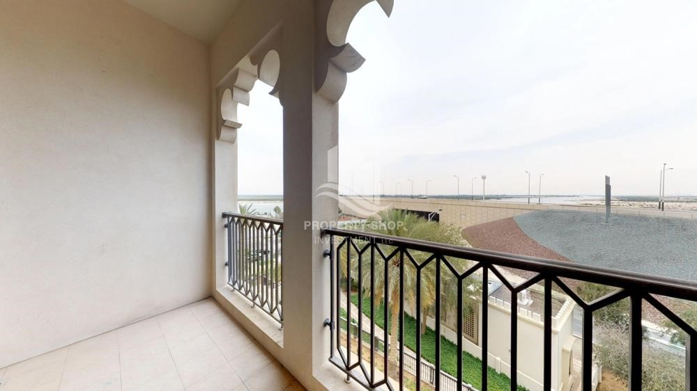Balcony - 2 Bedroom in Luxurious Saadiyat Beach Residence FOR RENT!