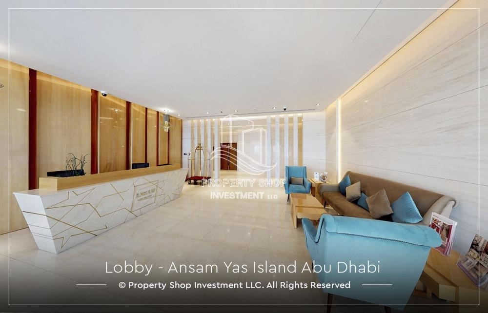 Lobby - 3 bedroom apartment for sale in Ansam.