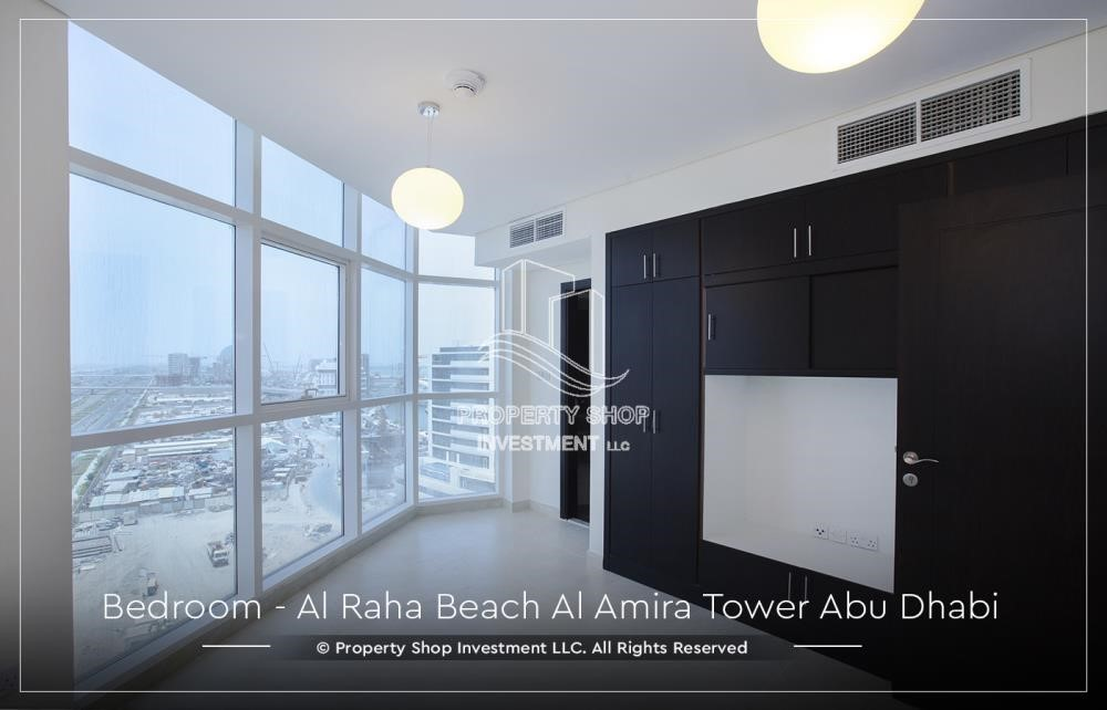 Bedroom - Best price for 3BR  Apartment Al Raha Beach