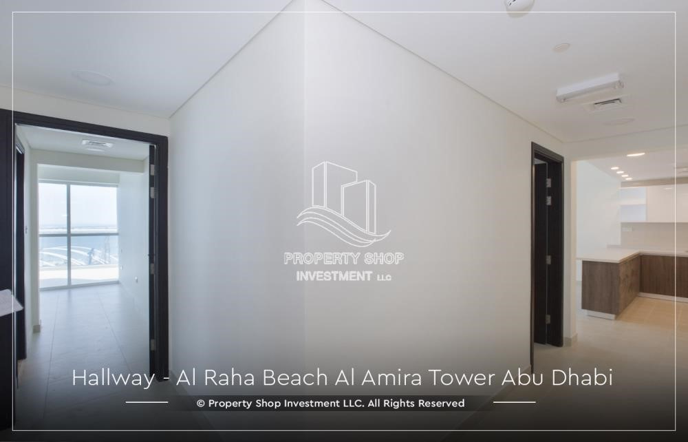 Foyer - Best price for 3BR  Apartment Al Raha Beach