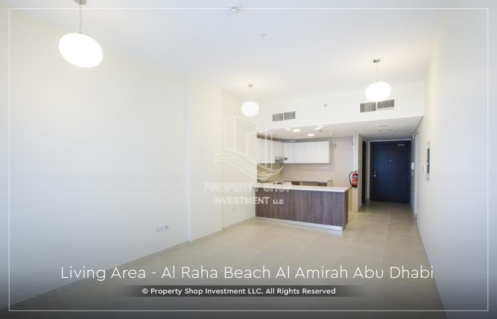 Dining Room - Brand New 2BR + Maid's room apartment in Al Raha Beach