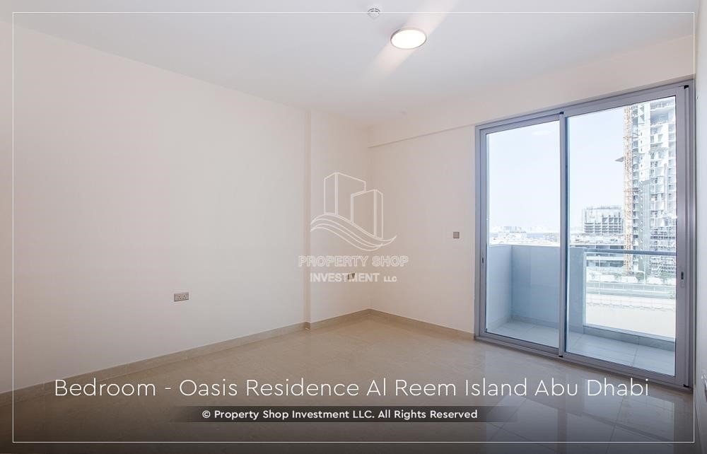 Bedroom - Brand New 1 Bedroom with Stunning Views in Oasis Residence.