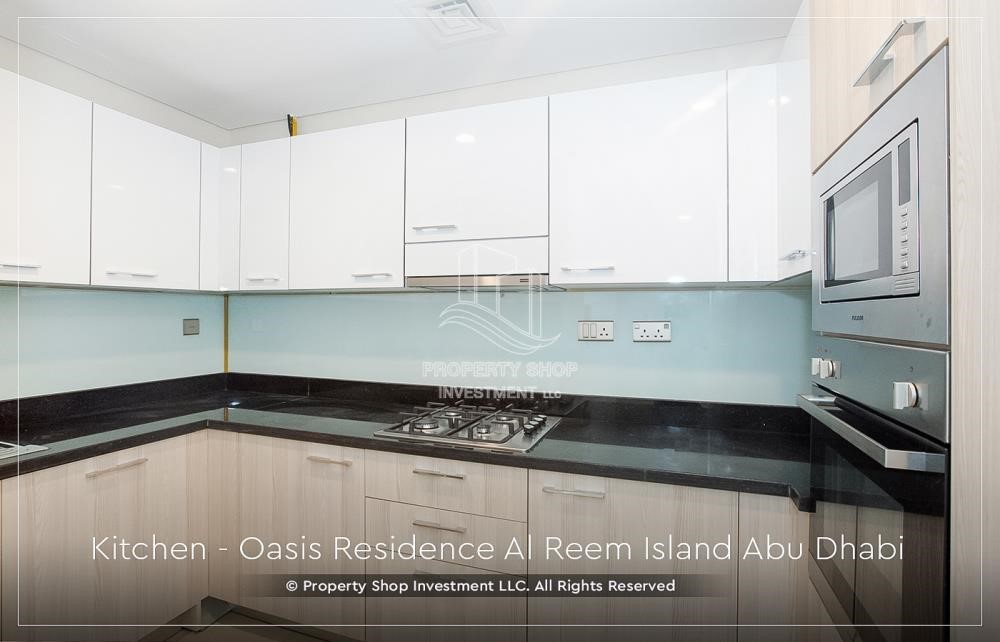 Kitchen - Brand New 1 Bedroom with Stunning Views in Oasis Residence.