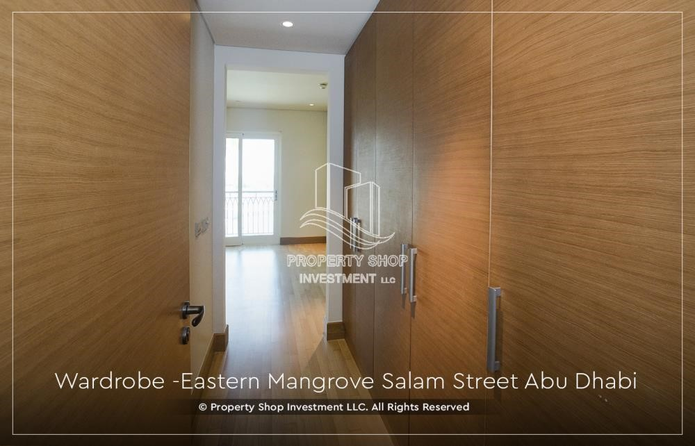 Built in Wardrobe - Elegant, Stunning 1BR Apartment with Mangrove View, Pool, Gym