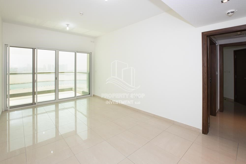 Living Room - Sea View! 3BR apartment available for rent now!