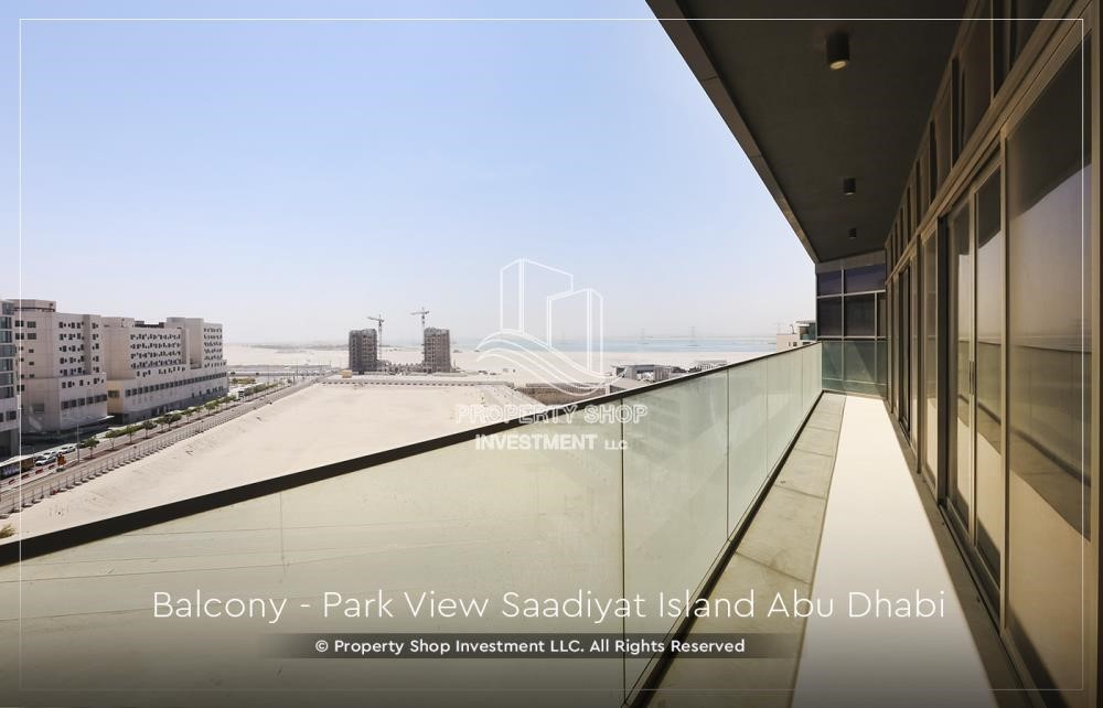 Balcony - Available for viewing and with High Returns! Own a brand new Apartment in Park View Saadiyat.