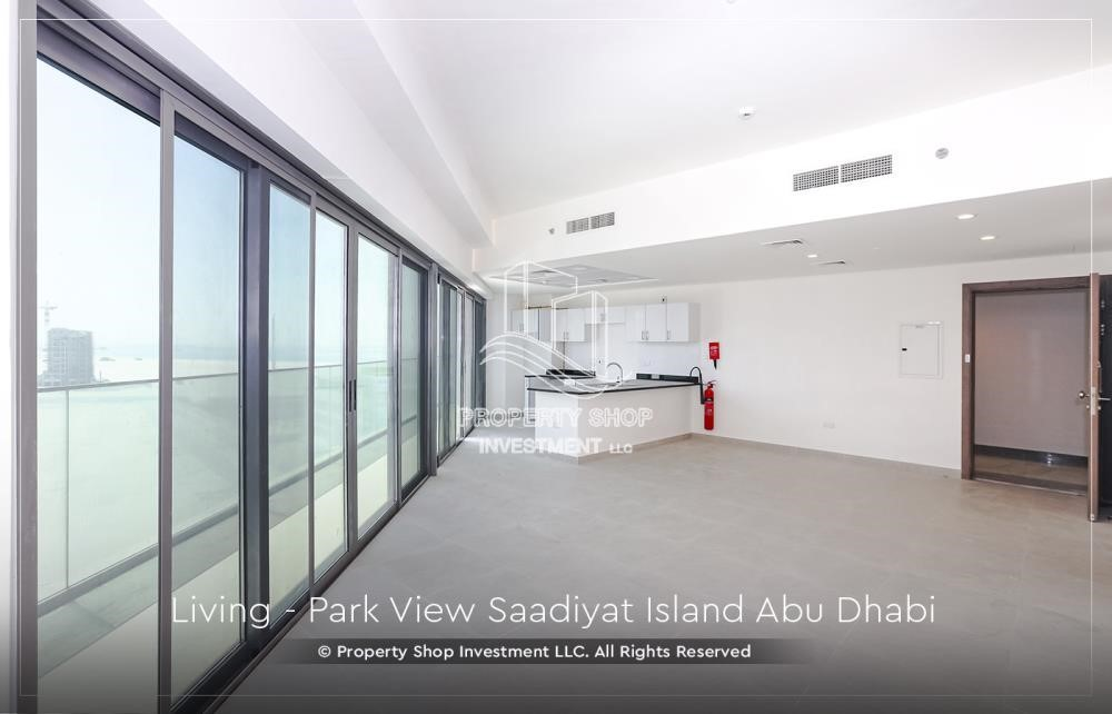 Living Room - Available for viewing and with High Returns! Own a brand new Apartment in Park View Saadiyat.