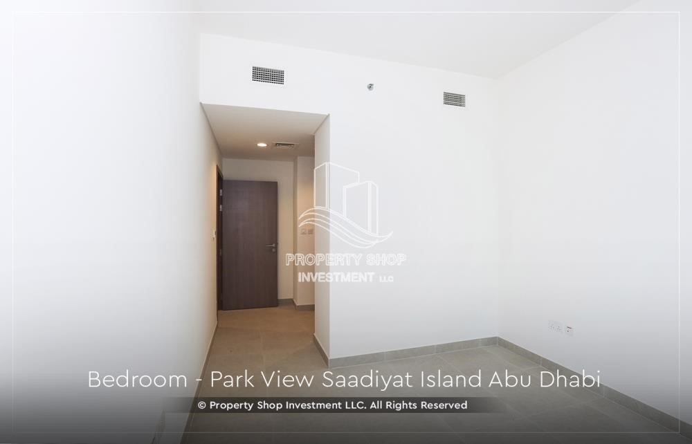 Bedroom - Available for viewing and with High Returns! Own a brand new Apartment in Park View Saadiyat.