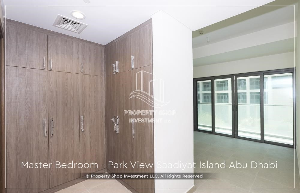 Built in Wardrobe - Available for viewing and with High Returns! Own a brand new Apartment in Park View Saadiyat.