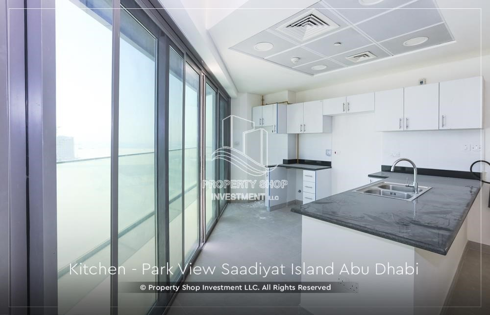 Kitchen - Available for viewing and with High Returns! Own a brand new Apartment in Park View Saadiyat.