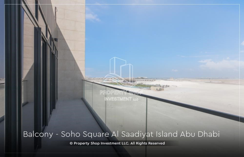 Balcony - High ROI and 10% Cash Back. Own a brand new Apartment in Soho Square.
