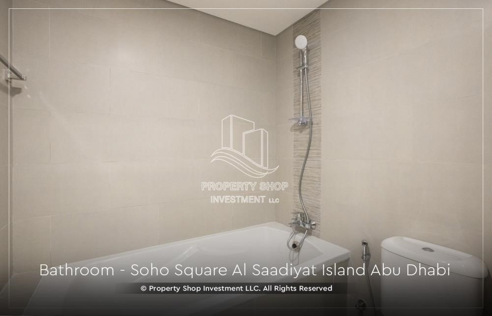 Bathroom - High ROI and 10% Cash Back. Own a brand new Apartment in Soho Square.