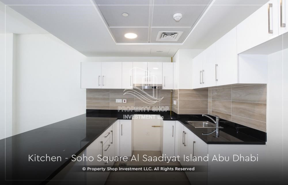 Kitchen - High ROI and 10% Cash Back. Own a brand new Apartment in Soho Square.