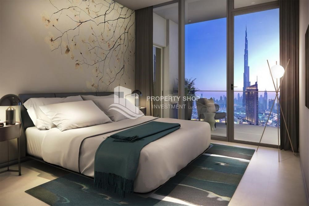 Bedroom - A Future Home with your family in Dubai Downtown Views II.