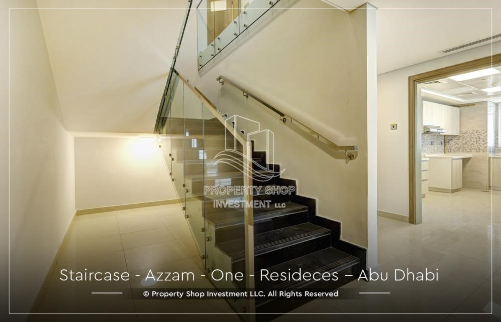 Stairs - Well Maintained, 4BR+M Apartment with Gym, Pool, Sauna, Steam Room