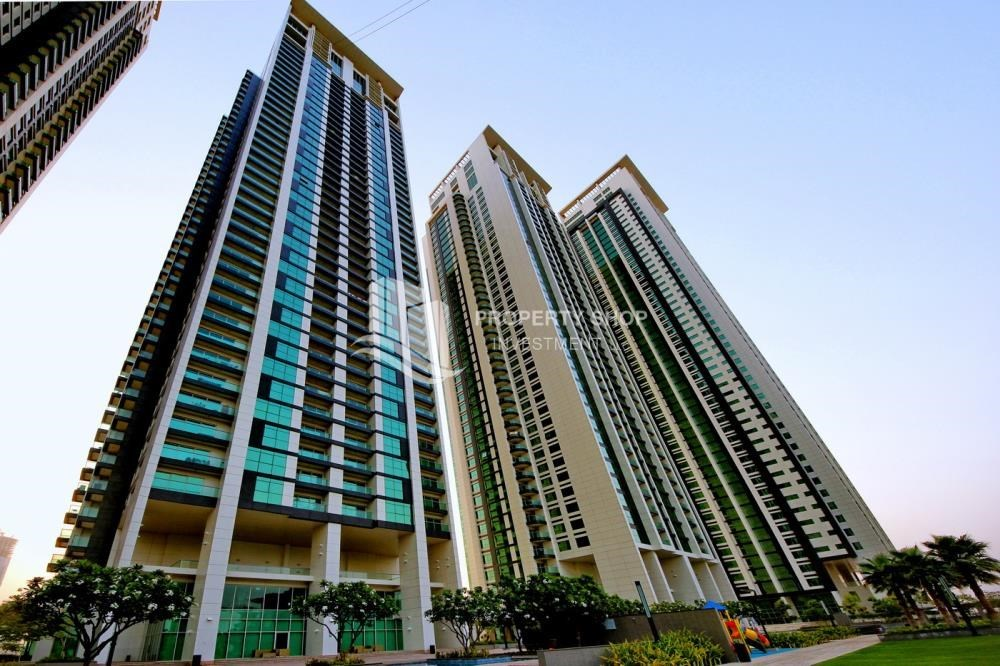 Property - Apt with all facilities on High Floor + High ROI.