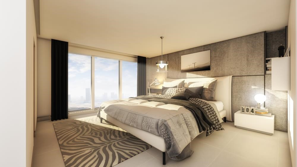 Master Bedroom - Explore Comfort in a Spacious 2+1BR Overlooking Mangroves, Reem Central Park & Facilities