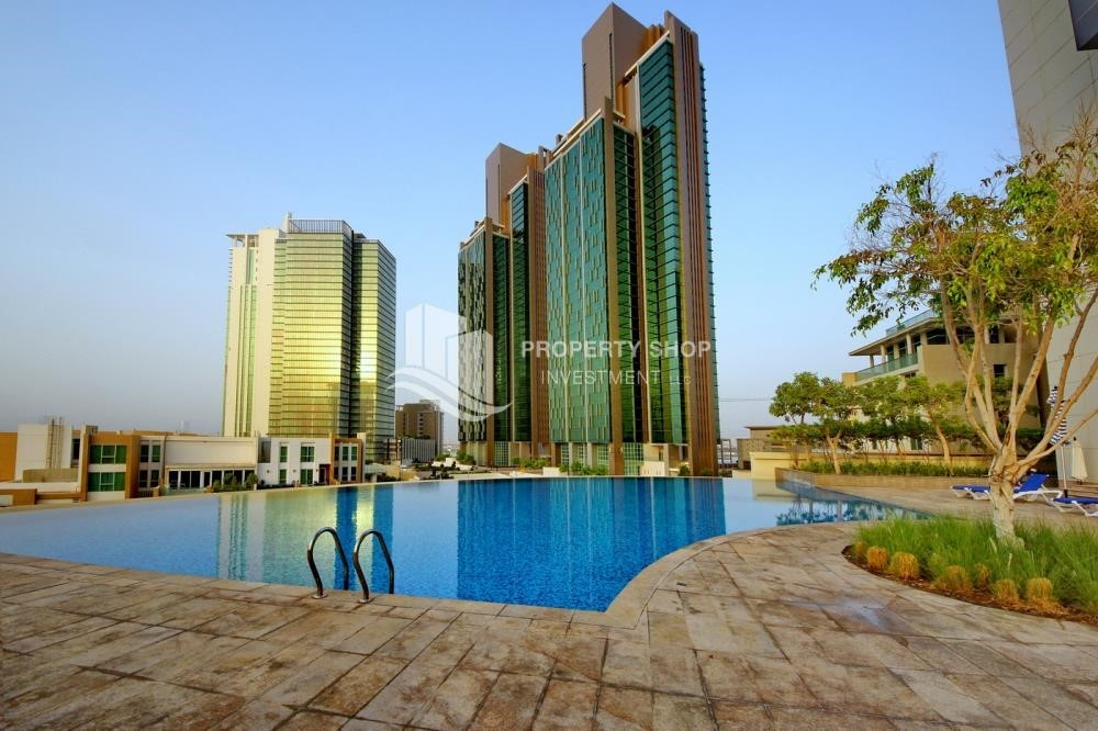 Facilities - 1 Bedrooom Apartment in Marina Blue, Marina Square FOR RENT!
