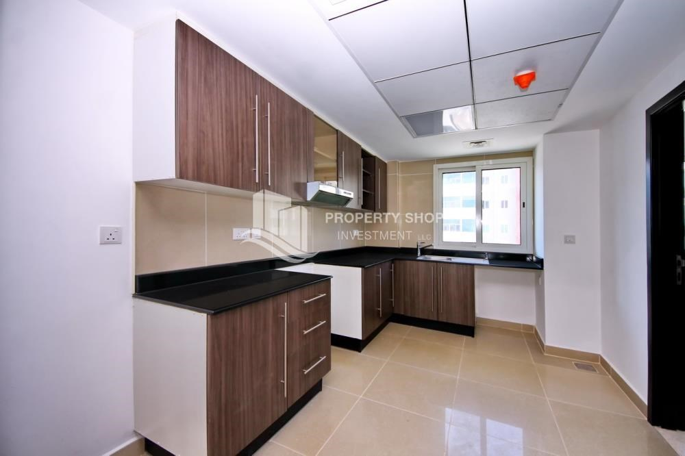 Kitchen - High floor 3BR + M with balcony in prime location