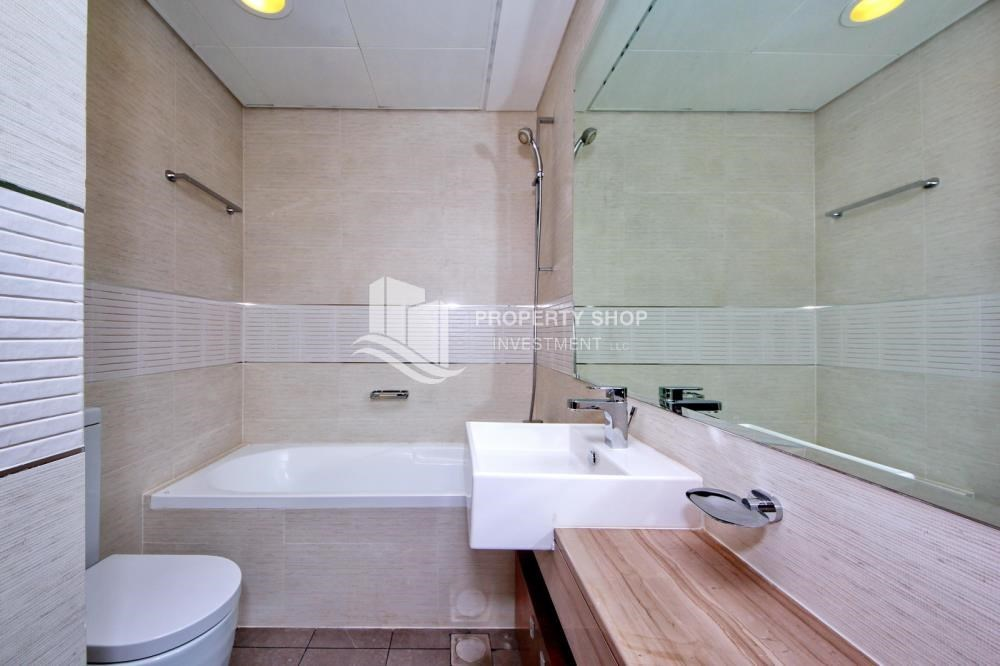 Bathroom - High floor Unit with City view.