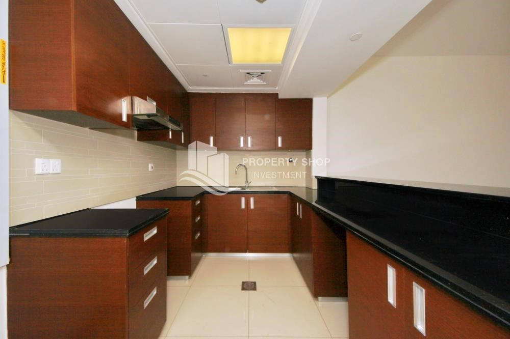 Kitchen - High floor Unit with City view.